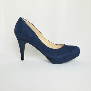 Marc Fisher Sydney 8, Leather Heels, Size 9.5M